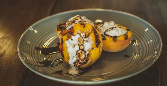 Grilled Peaches!