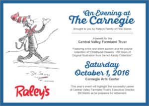 Carnegie TIX on Sale NOW – Oct. 1, 2016