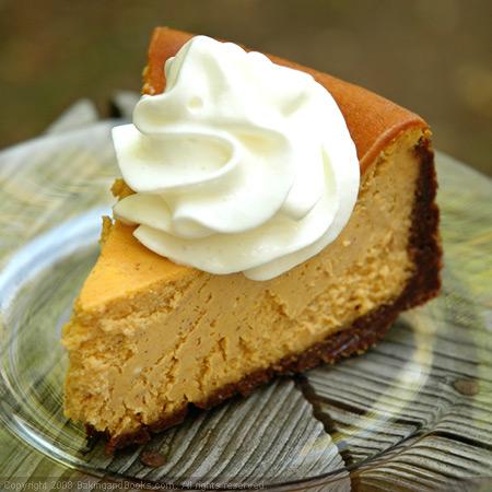 Pumpkin Cheesecake Cupcakes with Bourbon Whipped Cream