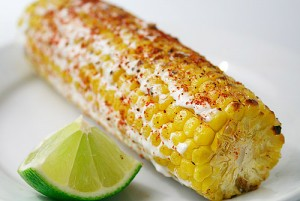 Baja Grilled Corn on the Cob