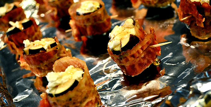Bacon Wrapped CA Figs