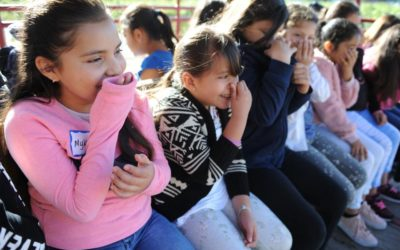 Lodi students pick corn, hear about organic fruit